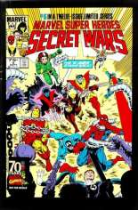 Marvel Super-Heroes Secret Wars (1984-1985) #5 Variant D: Marvel Universe Comic Packs Reprint Packaged w/ Nightcrawler and Storm