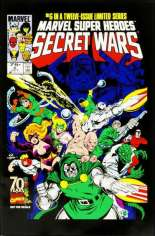Marvel Super-Heroes Secret Wars (1984-1985) #6 Variant D: Marvel Universe Comic Packs Reprint Packaged w/ Mr. Fantastic and Ultron