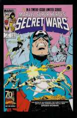 Marvel Super-Heroes Secret Wars (1984-1985) #7 Variant D: Marvel Universe Comic Packs Reprint Packaged w/ Iron Man and Spider-Woman