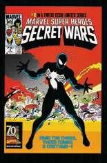 Marvel Super-Heroes Secret Wars (1984-1985) #8 Variant D: Marvel Universe Comic Packs Reprint Packaged w/ Black Costume Spider-Man and Magneto