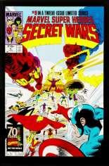 Marvel Super-Heroes Secret Wars (1984-1985) #9 Variant D: Marvel Universe Comic Packs Reprint Packaged w/ Hawkeye and Piledriver