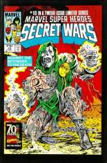 Marvel Super-Heroes Secret Wars (1984-1985) #10 Variant D: Marvel Universe Comic Packs Reprint Packaged w/ Absorbing Man, Doctor Doom and Wasp
