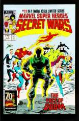 Marvel Super-Heroes Secret Wars (1984-1985) #11 Variant D: Marvel Universe Comic Packs Reprint Packaged w/ Thor and Enchantress