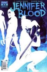 Jennifer Blood (2011-2014) #4 Variant F: 1:25 Negative Cover