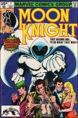 Moon Knight (1980-1984) #1 Variant C: UK Edition