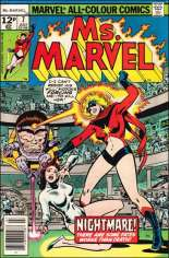 Ms. Marvel (1977-1979) #7 Variant C: UK Edition