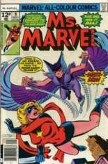 Ms. Marvel (1977-1979) #9 Variant C: UK Edition