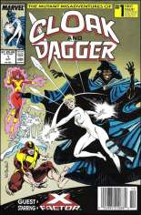Mutant Misadventures of Cloak and Dagger (1988-1991) #1 Variant A: Newsstand Edition