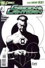 Green Lantern (2011-2018) #1 Variant C: 1:5 Variant