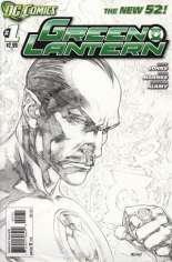 Green Lantern (2011-2018) #1 Variant D: Sketch Cover