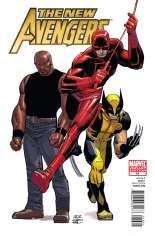 New Avengers (2010-2013) #16 Variant B: 1:15 Variant