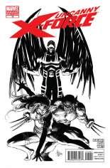 Uncanny X-Force (2010-2012) #15 Variant C: Sketch Cover