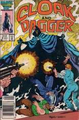 Cloak and Dagger (1985-1987) #8 Variant A: Newsstand Edition
