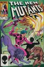 New Mutants (1983-1991) #16 Variant B: Direct Edition