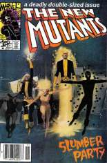 New Mutants (1983-1991) #21 Variant A: Newsstand Edition