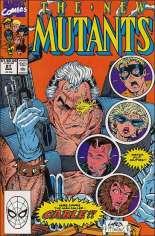 New Mutants (1983-1991) #87 Variant B: Direct Edition