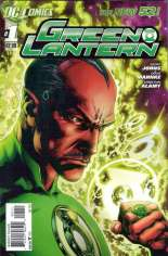 Green Lantern (2011-2018) #1 Variant E: Recalled Edition; Recalled Due to Teardrop Printing Error on Cover