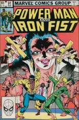 Power Man and Iron Fist (1978-1986) #91 Variant B: Direct Edition