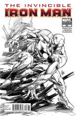Invincible Iron Man (2008-2012) #508 Variant C: Sketch Cover