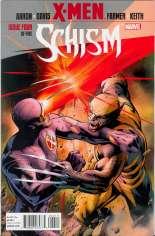 X-Men: Schism (2011) #4 Variant A