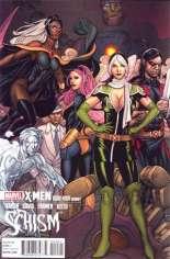 X-Men: Schism (2011) #4 Variant B: 1:15 Variant