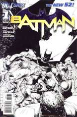 Batman (2011-2016) #1 Variant D: Sketch Cover