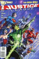 Justice League (2011-2016) #1 Variant F: 3rd Printing