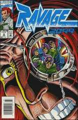 Ravage 2099 (1992-1995) #8 Variant A: Newsstand Edition