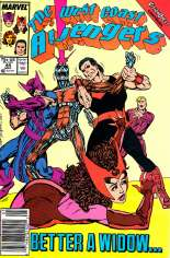 West Coast Avengers (1985-1989) #44 Variant A: Newsstand Edition