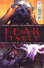 Fear Itself (2011-2012) #4 Variant D: 2nd Printing