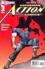 Action Comics (2011-2016) #1 Variant E: 2nd Printing