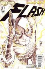 Flash (2011-2016) #1 Variant C: Sketch Cover