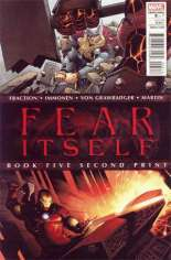 Fear Itself (2011-2012) #5 Variant D: 2nd Printing