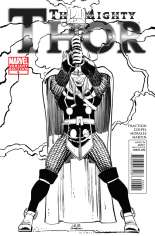 Mighty Thor (2011-2012) #6 Variant C: Sketch Cover