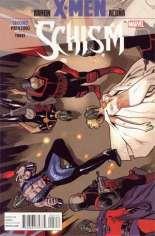 X-Men: Schism (2011) #3 Variant C: 2nd Printing