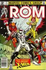 Rom (1979-1986) #17 Variant A: Newsstand Edition