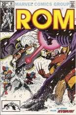 Rom (1979-1986) #18 Variant C: UK Edition