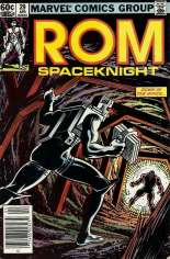 Rom (1979-1986) #29 Variant A: Newsstand Edition