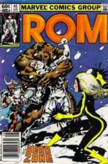 Rom (1979-1986) #45 Variant A: Newsstand Edition