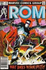 Rom (1979-1986) #46 Variant A: Newsstand Edition