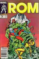 Rom (1979-1986) #58 Variant A: Newsstand Edition
