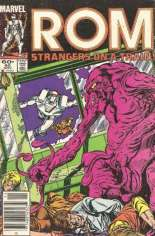 Rom (1979-1986) #60 Variant A: Newsstand Edition