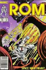 Rom (1979-1986) #63 Variant A: Newsstand Edition