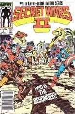Secret Wars II (1985-1986) #1 Variant C: $1.00 Variant