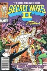 Secret Wars II (1985-1986) #2 Variant C: $1.00 Variant