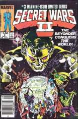 Secret Wars II (1985-1986) #3 Variant C: $1.00 Variant