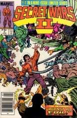 Secret Wars II (1985-1986) #7 Variant A: Newsstand Edition