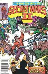 Secret Wars II (1985-1986) #7 Variant C: $1.00 Variant
