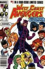 West Coast Avengers (1984) #1 Variant A: Newsstand Edition