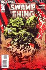 Swamp Thing (2011-2015) #1 Variant B: 2nd Printing